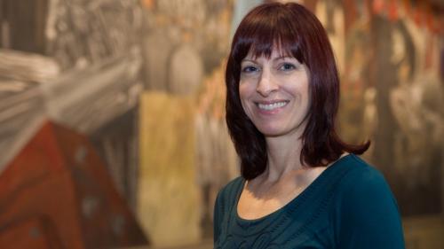 Associate Professor of Art History Mary Coffey