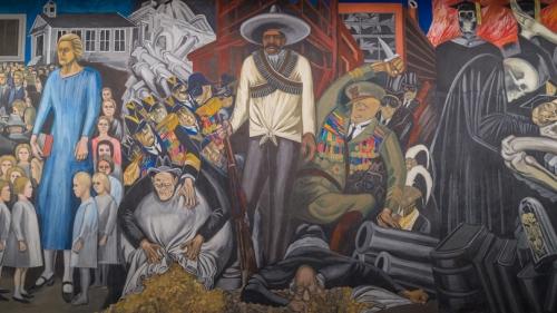 "Jose Clemente Orozco's ""The Epic of American Civilization,"" one of Dartmouth's greatest treasures"